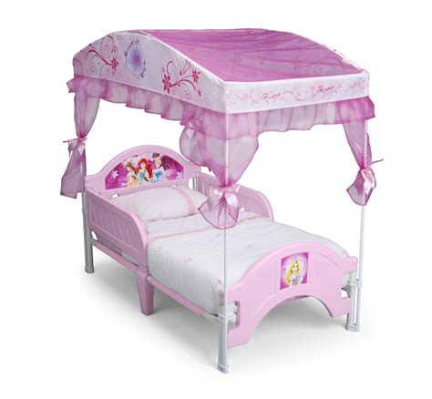 canopy bed for toddler delta children disney princess canopy toddler bed baby
