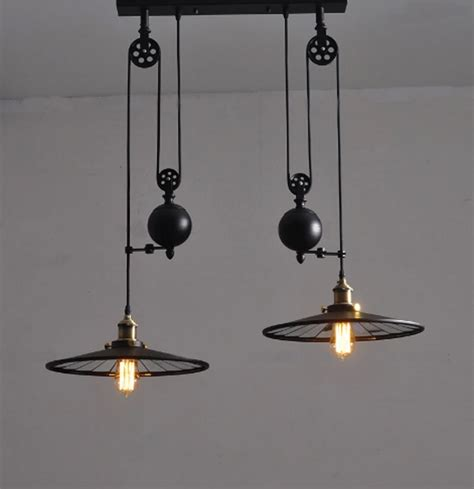 wrought iron pendant lights kitchen kitchen industrial vintage l with wheels retro black