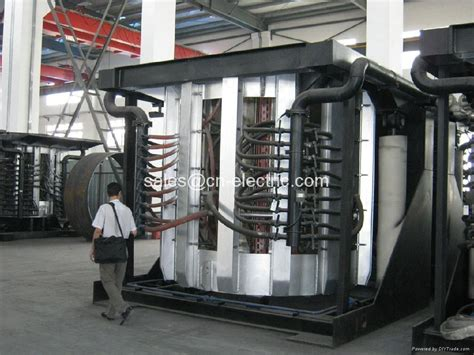 melting in the oven coreless medium frequency induction oven melting oven