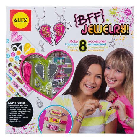 jewelry kit for 10 year alex toys do it yourself wear bff jewelry kit alexbrands