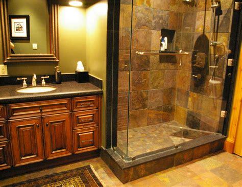 Log Home Bathroom Ideas by Custom Log Home Design Murray Arnott Design