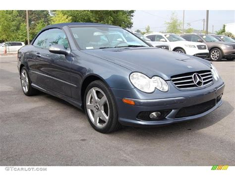 2005 Mercedes Clk500 by 2005 Cadet Blue Metallic Mercedes Clk 500 Cabriolet