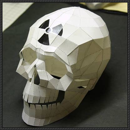 Skull Papercrafts Page 4 Of 7 Papercraftsquare