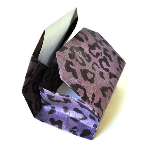 origami cheetah square semicolon tie tack fabled treasures