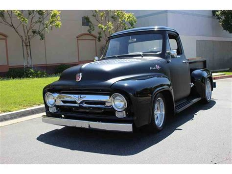 1955 Ford Truck by 1955 Ford Truck Flat Black Www Imgkid The Image