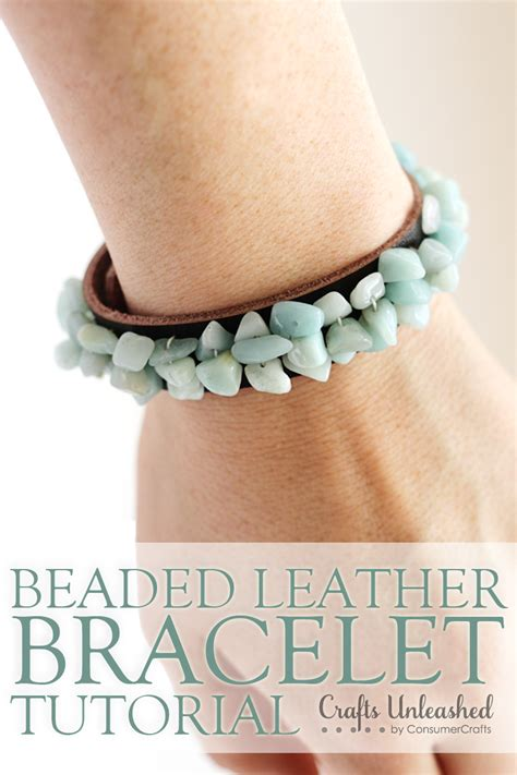 bead bracelets diy leather bracelets for bead jewelry tutorial