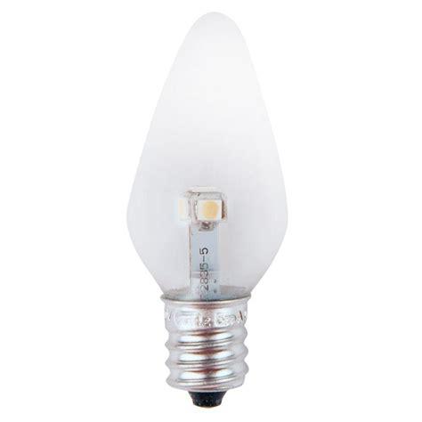 blue led light bulb moonrays blue glass 4 watt wedge base replacement light
