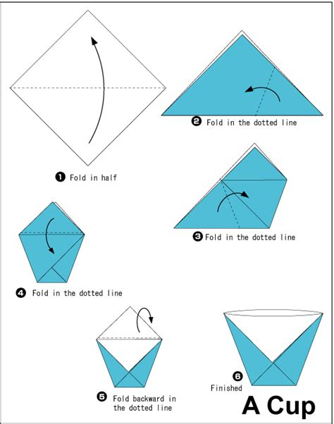 how to make origami things easy origami cup origami origami cups and wax