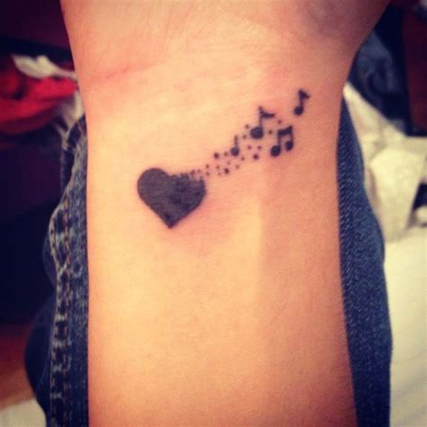 17 best ideas about music note tattoos on pinterest
