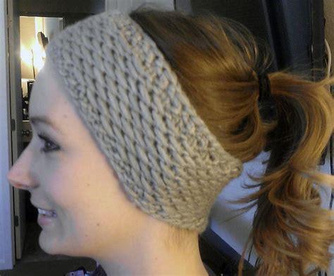 knitting pattern ear warmer headband knit headband ear warmer patterns a knitting