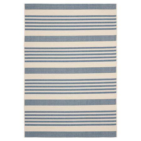 outdoor striped rug blue stripe outdoor rug backyard