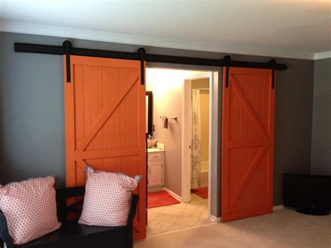 how to make a barn door for inside how to make a barn door to bring countryside nuance inside