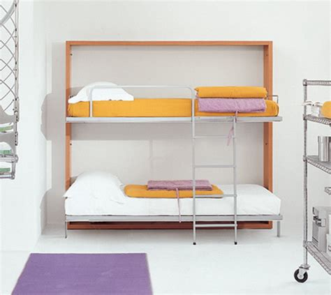 wall mounted bunk beds bloombety minimalist white wall mounted bunk beds wall