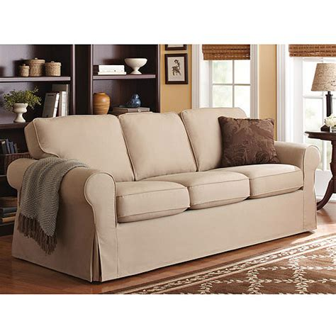 sofa slipcover walmart better homes and gardens slip cover sofa colors
