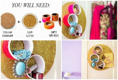 how to make cool jewelry at home 20 ideas to make diy jewelry holder stay organized