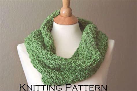 chunky knit infinity scarf pattern scarf knitting pattern chunky knit scarf by knitsbyveronica
