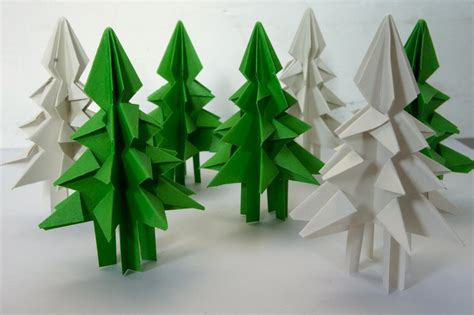origami paper tree ideas from the forest folding trees