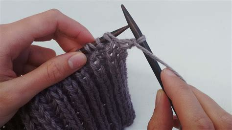 how to knit with yarn in front how to knit brioche stitch watg