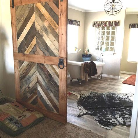 reclaimed wood barn doors reclaimed wood chevron barn door laelee designs