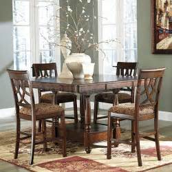 kitchen dining room sets leahlyn counter height dining room set casual dining