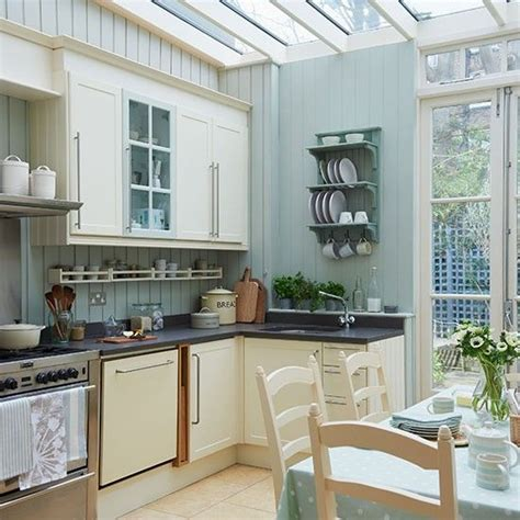 blue kitchen decorating ideas pale blue kitchen conservatory conservatory ideas