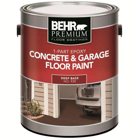 home depot paint reviews behr behr premium floor coatings 1 part epoxy concrete