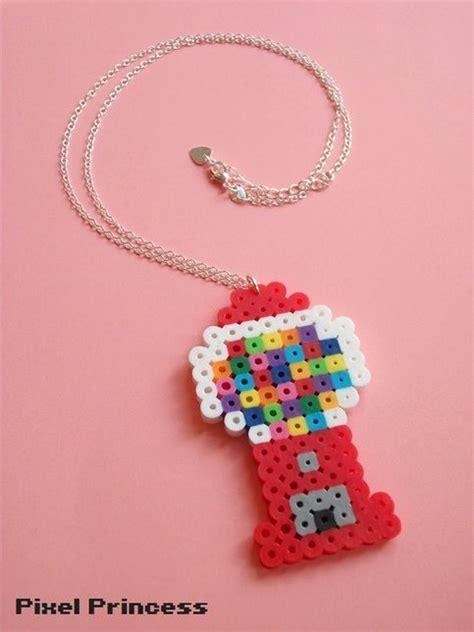 perler bead jewelry patterns best 25 perler ideas on hama