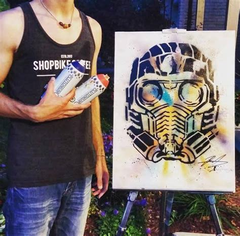 spray paint instagram starlord by dah rayl instagram x plutonium paint