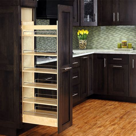 pull out kitchen cabinet rev a shelf wood pull out pantry with adjustable