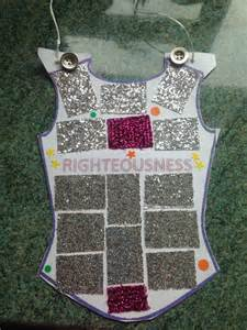 breastplate of righteousness craft for 8 best armor of god images on vbs crafts