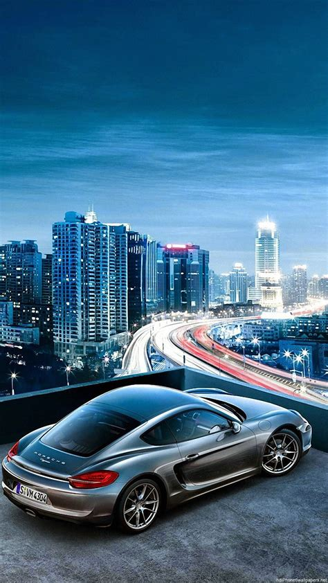 Car Wallpaper Vertical by Porsche Car Sky City View Iphone 6 Wallpapers Hd And 1080p