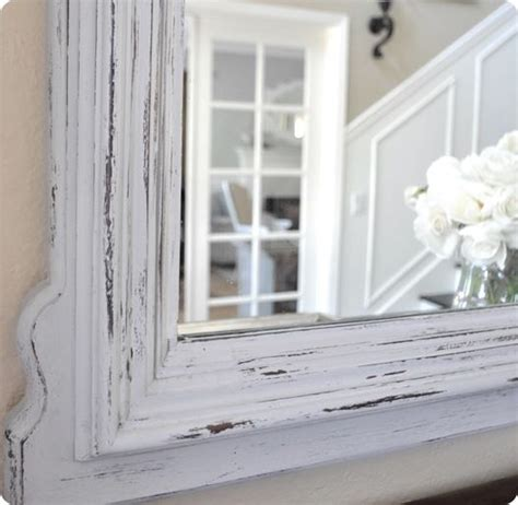 diy chalk paint mirror chalk paint mirror