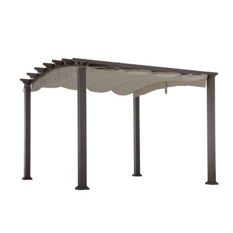 hton bay steel pergola arrow gazebo 28 images garden winds replacement canopy