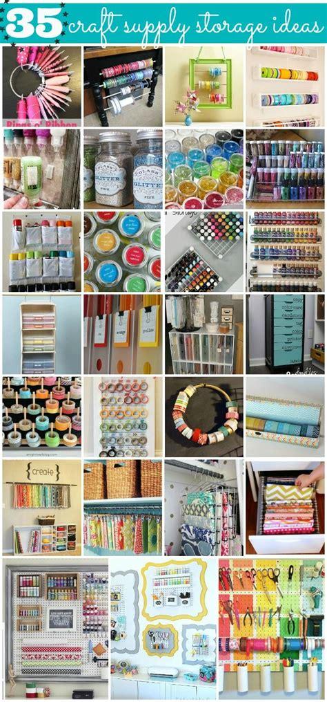 paper craft storage solutions 35 crafty craft storage solutions craft supplies