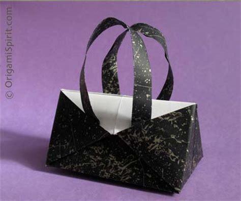 purse origami a contemporary origami handbag