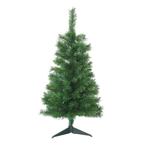 3 foot trees home accents 3 ft unlit tacoma pine artificial