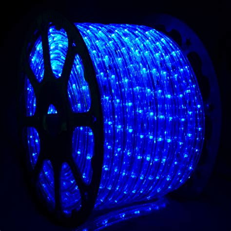light rope led blue led rope light