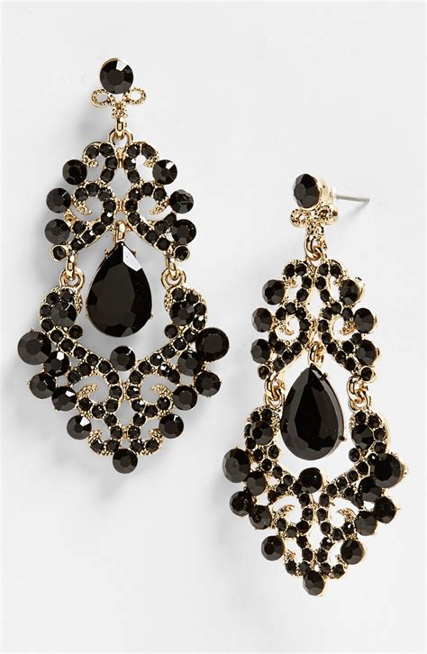 Black Gold Earrings Black Gold