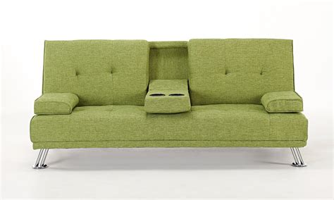 green sofa bed fabric sofa bed groupon goods