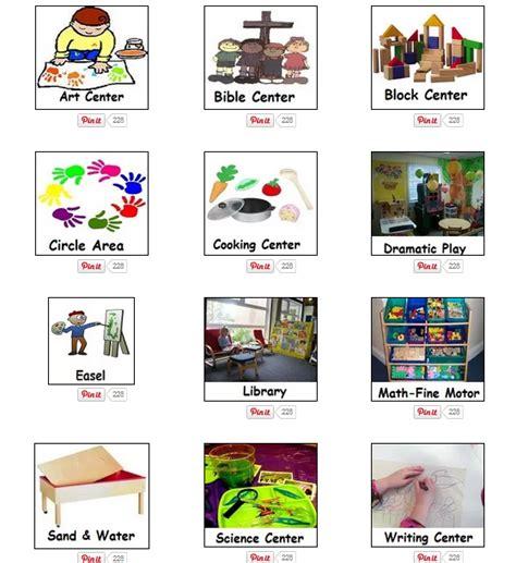 preschool for preschool activities interest center