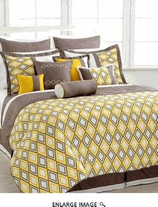 yellow and brown comforter set brown and yellow bedding house