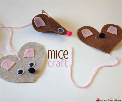 mouse crafts for mice craft sugar spice and glitter