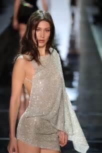 fashion show hadid at alexandre vauthier fashion show at