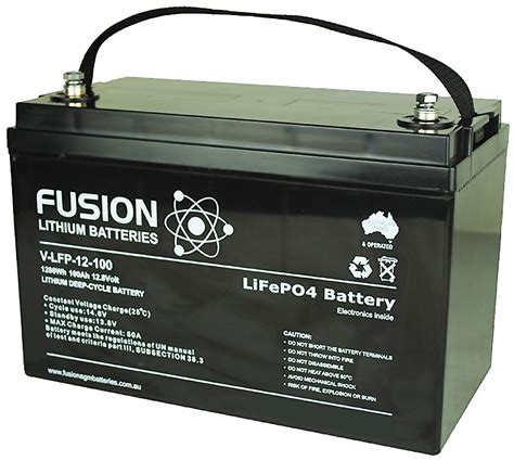 fusion hours lithium ion batteries in caravans and motor homes