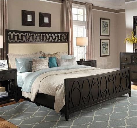 contemporary bed set samuel aura 5 california king bedroom set