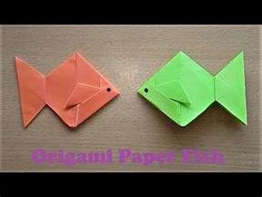 really easy origami for how to make an origami paper fish step by step easy