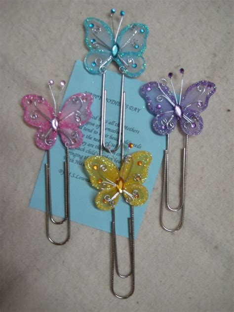 paper clip craft butterfly paper clip crafts