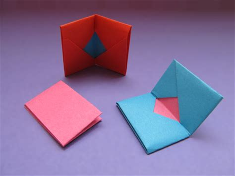 how to make a paper card holder how to make a paper wallet for business cards or credit