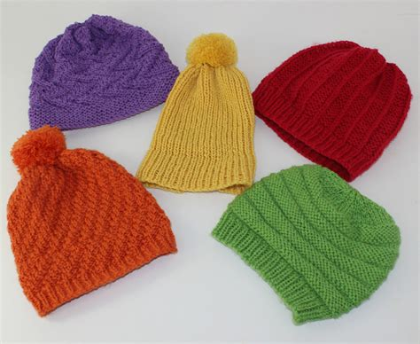 simple baby beanie knitting pattern 5 easy baby beanies circular knitting pattern1