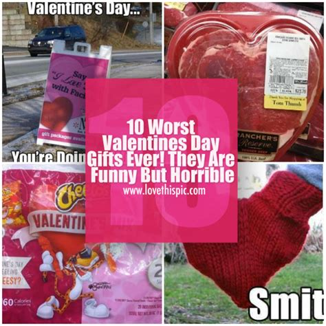 the worst gifts 10 worst valentines day gifts they are but
